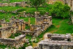 Archeologiczny rezerwowy Chersonese Fotografia Stock