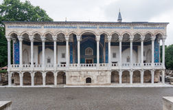 Archeologiemuseum Istanboel Stock Foto
