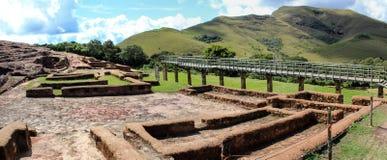 archeologii Bolivia el fuerte ruiny zdjęcia royalty free