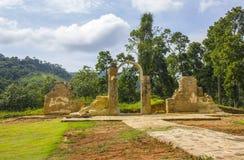 Archeologisch en Milieupark São João Marcos royalty-vrije stock afbeeldingen