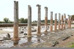 Archeologisch gebied van Aquileia royalty-vrije stock foto's