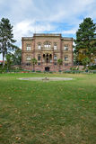Archeologisch museum in Freiburg, Duitsland stock afbeeldingen
