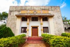 Archeologisch Museum in Jaffna stock foto