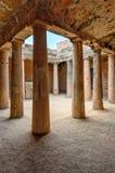 Archeologisch museum in Paphos op Cyprus Stock Afbeeldingen