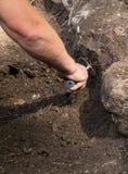 Archeologisch onderzoek stock foto's