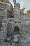 Archeologisch Park van Caesarea Stock Fotografie