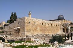 Archeologisch park van Jeruzalem Stock Foto