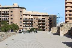 Archeologische plaats in Algeciras, Spanje Royalty-vrije Stock Afbeeldingen