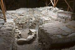 Archeologische plaats in Griekenland Stock Afbeelding