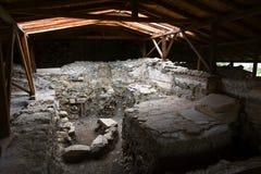 Archeologische plaats in Griekenland Royalty-vrije Stock Afbeelding