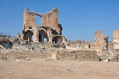 Archeologische plaats Rome, Villadei Quintili, Appia Antica Royalty-vrije Stock Fotografie