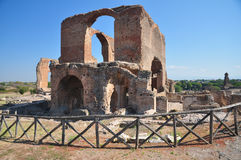 Archeologische plaats Rome, Villadei Quintili, Appia Antica Royalty-vrije Stock Afbeelding