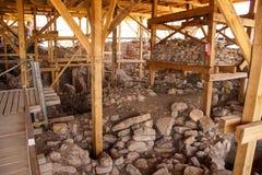 Archeologische plaats van Gobekli Tepe Royalty-vrije Stock Foto