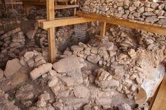 Archeologische plaats van Gobekli Tepe Stock Afbeelding