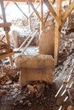 Archeologische plaats van Gobekli Tepe Royalty-vrije Stock Fotografie