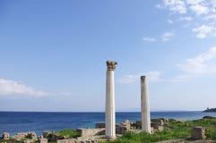 Archeologische plaats van Tharros royalty-vrije stock foto's