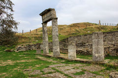 Archeologische Reserve Pantikapaion. Royalty-vrije Stock Fotografie