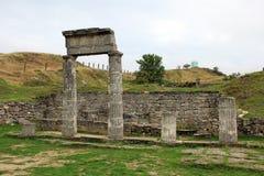 Archeologische Reserve Pantikapaion. Royalty-vrije Stock Foto's