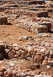 Archeologische uitgraving stock afbeeldingen
