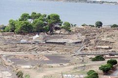 Archeologische uitgravingen royalty-vrije stock fotografie