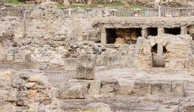 Archeologische uitgravingen stock fotografie
