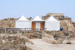 Archeologische Uitgravingen stock foto's
