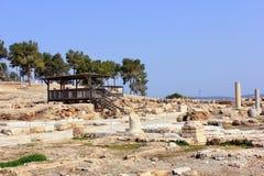 Archeologische uitgravingen, nationaal park Zippori, Galilee, Israël Royalty-vrije Stock Foto
