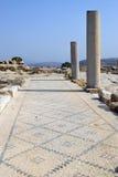 Archeologische uitgravingen, nationaal park Zippori, Galilee, Israël Stock Afbeeldingen