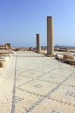 Archeologische uitgravingen, nationaal park Zippori, Galilee, Israël Stock Fotografie