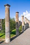 Archeologische uitgravingen van Pompei, Italië Royalty-vrije Stock Foto's