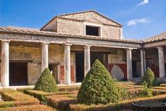 Archeologische uitgravingen van Pompei, Italië Stock Afbeelding