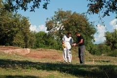 archeologists powikłany lorun działanie Zdjęcie Royalty Free