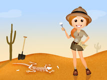 archeologo Immagini Stock