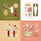 Archeology Concept Illustration Royalty Free Stock Photo