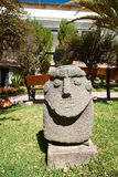 The Archeology Museum of Ancash. Artifacts at the Archeology Museum of Ancash,Huaraz, Peru Stock Images