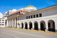 Archeology Museum, Huaraz. The Archeology Museum of Ancash in Huaraz, Peru Royalty Free Stock Images