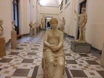 Archeology museum, Naples Stock Photography