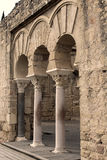 Archeology palace ruins Stock Image