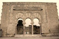 Archeology palace ruins Royalty Free Stock Photography