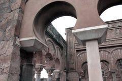 Archeology palace ruins Royalty Free Stock Image