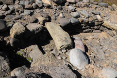 Archeology Site in Canary Islands Royalty Free Stock Photos