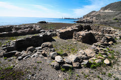 Archeology Site in Canary Islands Stock Photography
