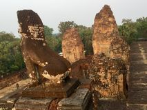 archeology Templo hindu, Siem Reap, Camboja fotos de stock royalty free