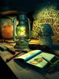 archeoloog Royalty-vrije Stock Afbeelding