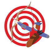 Archer royalty illustrazione gratis
