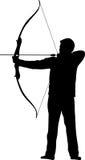 Archer-Bogenpfeil Stockfoto