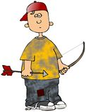 Archer Boy Stock Photo