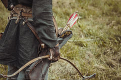 Archer d'équipement Photographie stock libre de droits