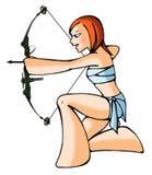 Archer del horóscopo Imagen de archivo libre de regalías