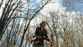 Archer en el bosque metrajes